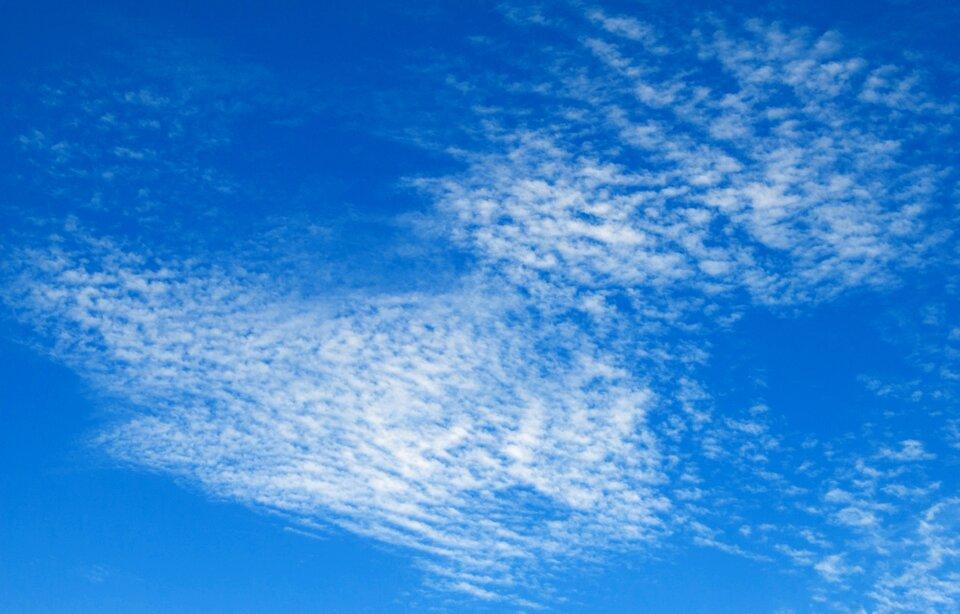 Fotografia chmury typu Cirrocumulus