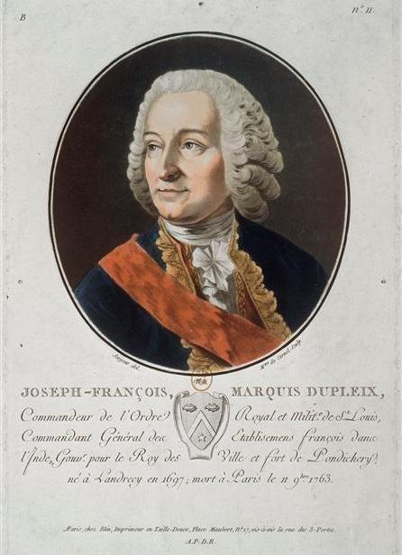 Josepha François Dupleix Źródło: Louis François, Josepha François Dupleix, 1763, domena publiczna.