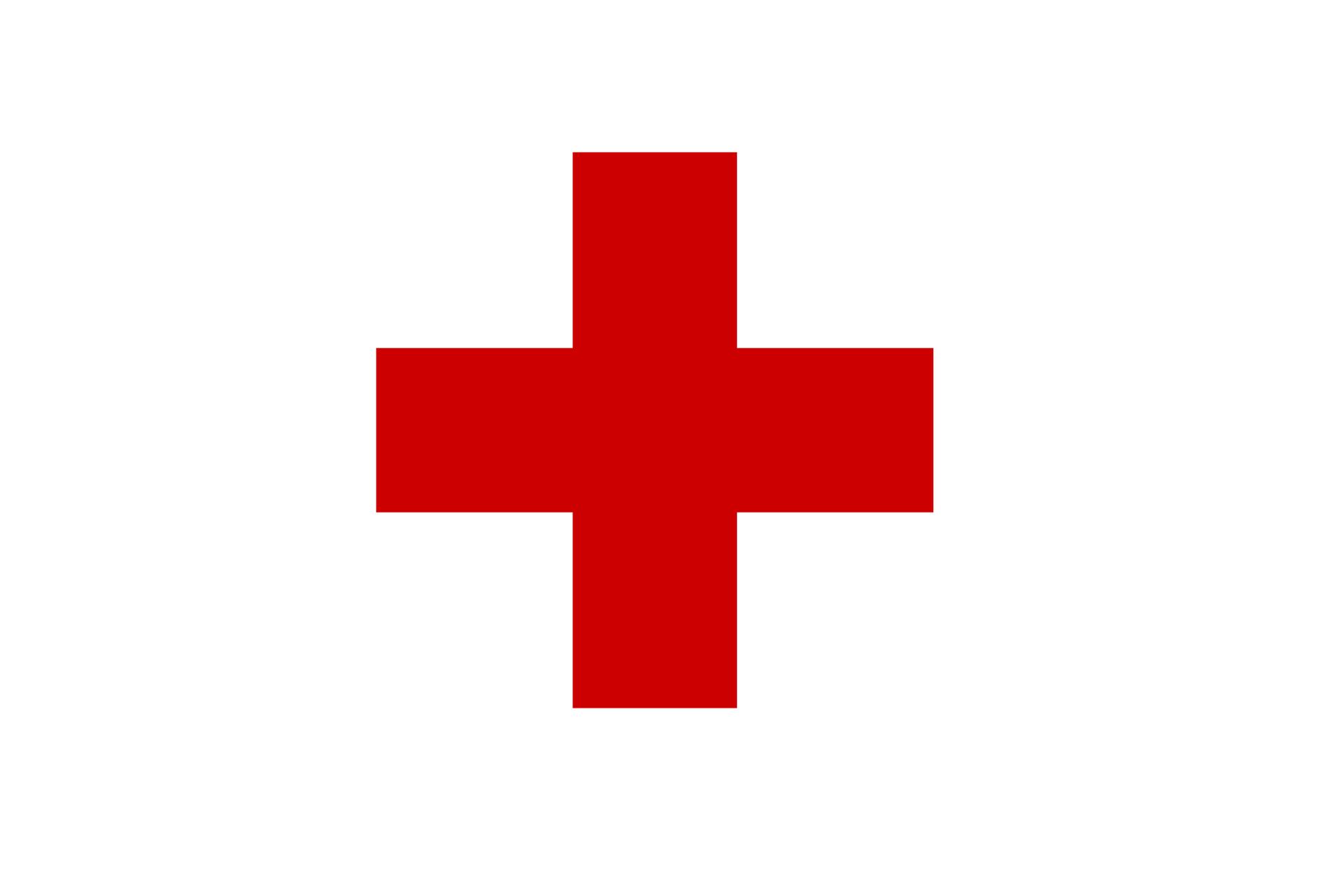 Galeria składa się z4 czerwonych symboli ułożonych wdwóch rzędach. Pierwszy symbol: czerwony krzyż orównych ramionach.