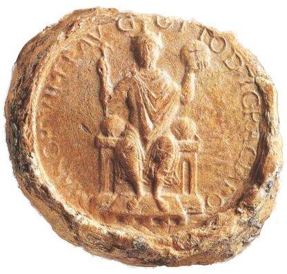 Pieczęć cesarska Ottona III Źródło: Pieczęć cesarska Ottona III.