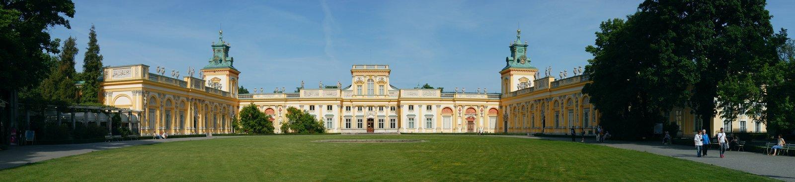 zdjęcie przedstawiaPałac wWilanowie, wktórymmieszkał Jana III Sobieski wraz zrodziną.