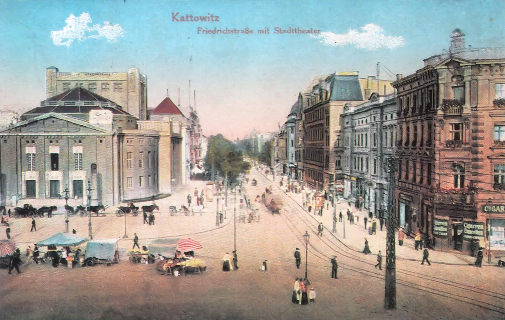 Stare Katowice Stare Katowice Źródło: Lestat, domena publiczna.