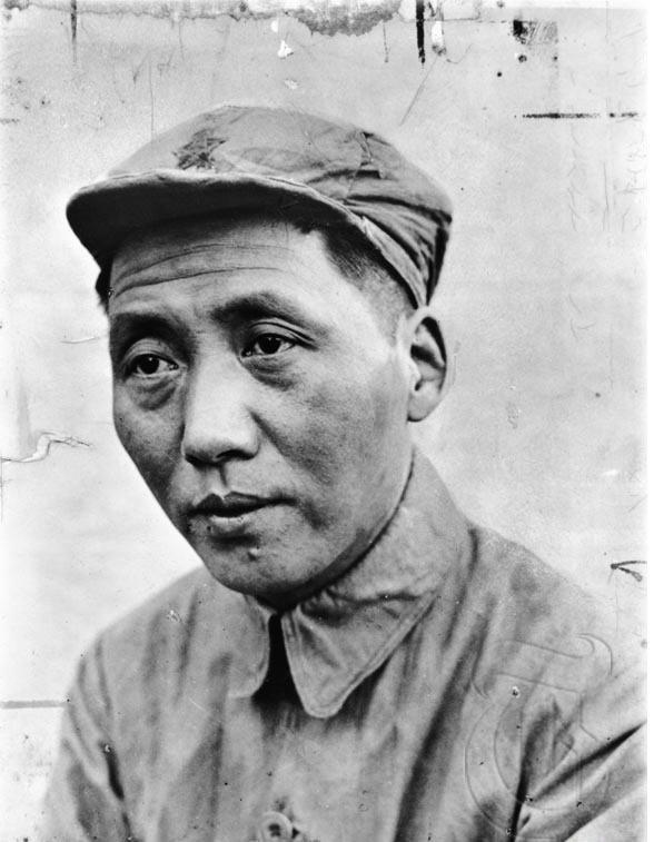Mao Tse-Tung Źródło: Mao Tse-Tung, Fotografia, domena publiczna.