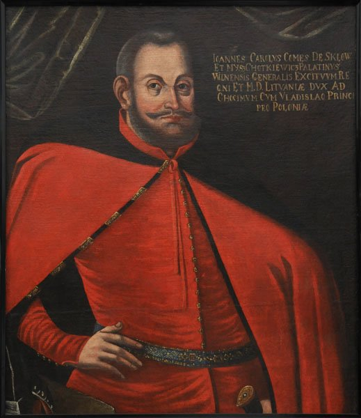 obraz przedstawia Jana Karola Chodkiewicza