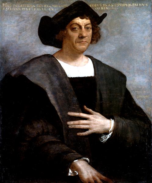 Krzysztof Kolumb Źródło: Sebastiano del Piombo, Krzysztof Kolumb, domena publiczna.