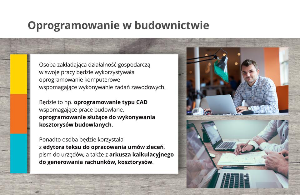 Ilustracja opisuje oprogramowanie wbudownictwie.