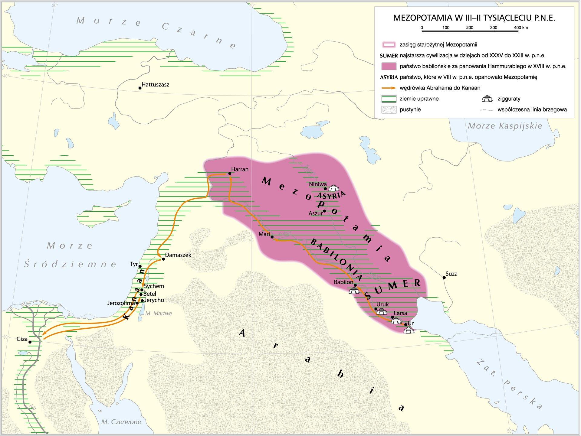 Wędrówka Abrahama do Ziemi Obiecanej Wędrówka Abrahama do Ziemi Obiecanej Źródło: Krystian Chariza izespół, licencja: CC BY 3.0.