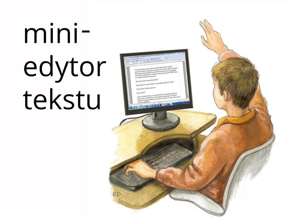 miniedytor tekstu