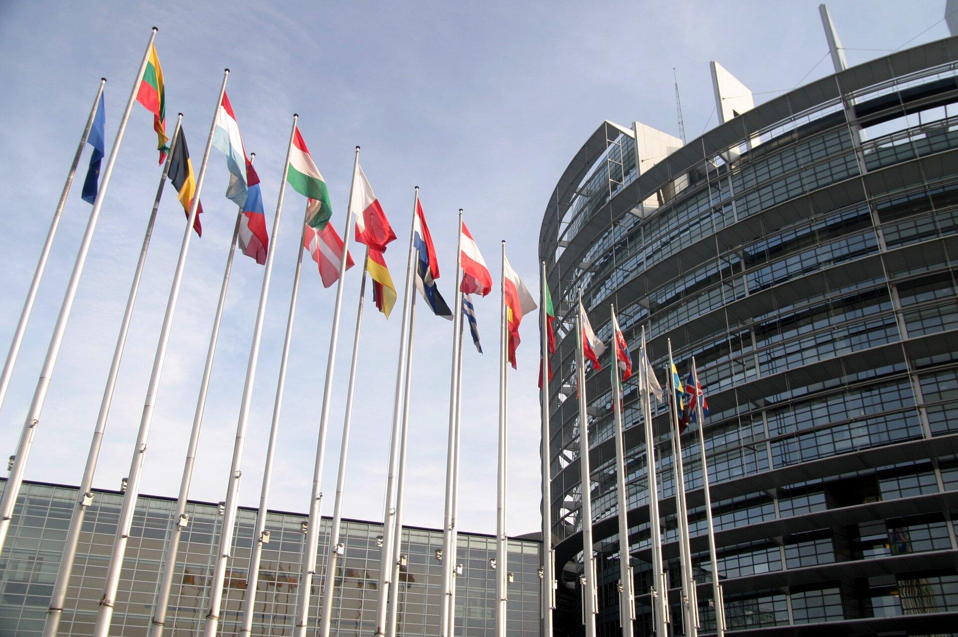 Parlament Europejski gmach