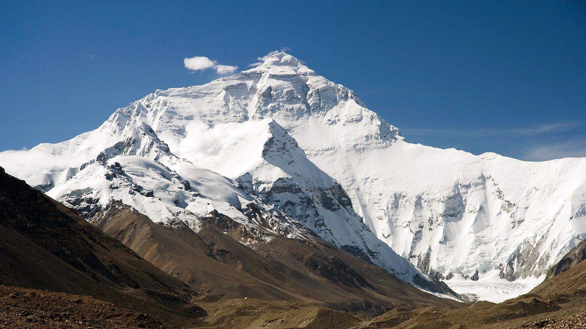 Ściana północna Mount Everestu Ściana północna Mount Everestu Źródło: Luca Galuzzi, licencja: CC BY-SA 2.5.