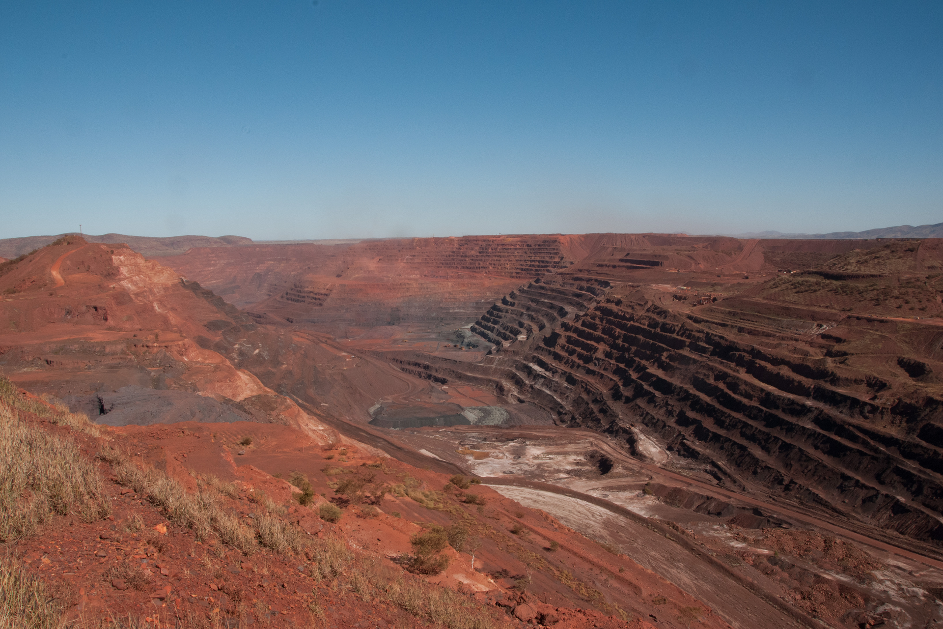 Zdjęcie kopalni żelaza