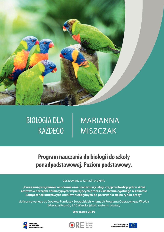Pobierz plik: program nauczania Biologia_PP_Miszczak.pdf