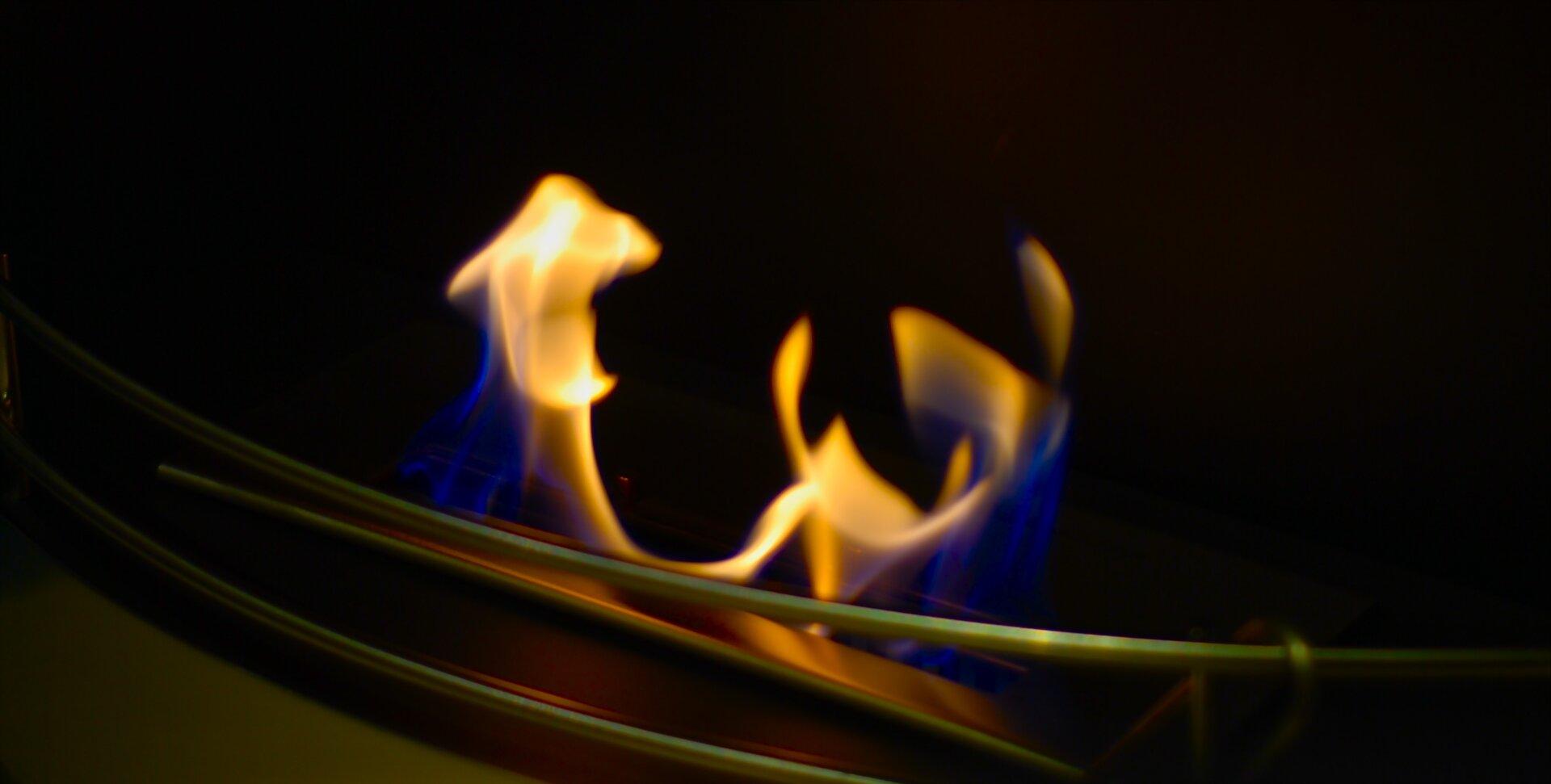 Badanie palności etanolu