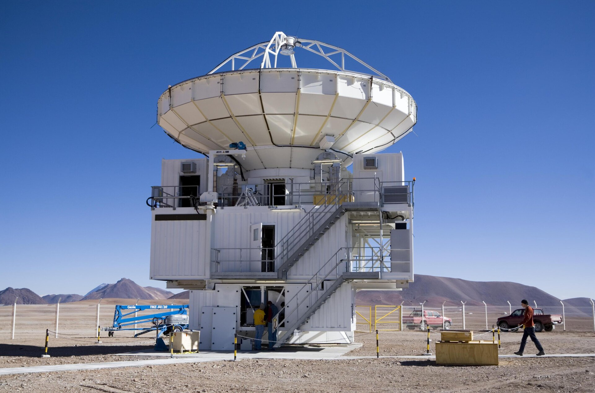 Radioteleskop APEX