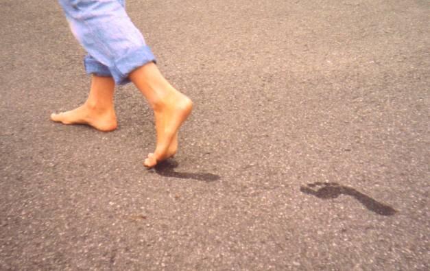 Idące stopy Źródło: Lorenz Kerscher, Idące stopy, licencja: CC BY-SA 3.0.