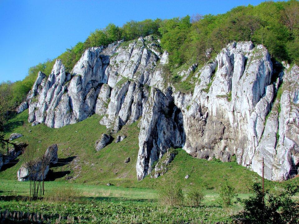 Porównanie skał wapiennych igipsowych