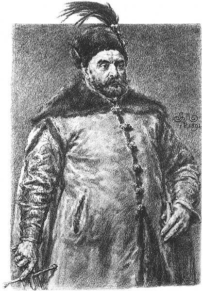 Stefan Batory Źródło: Jan Matejko, Stefan Batory, 1890-1892, domena publiczna.