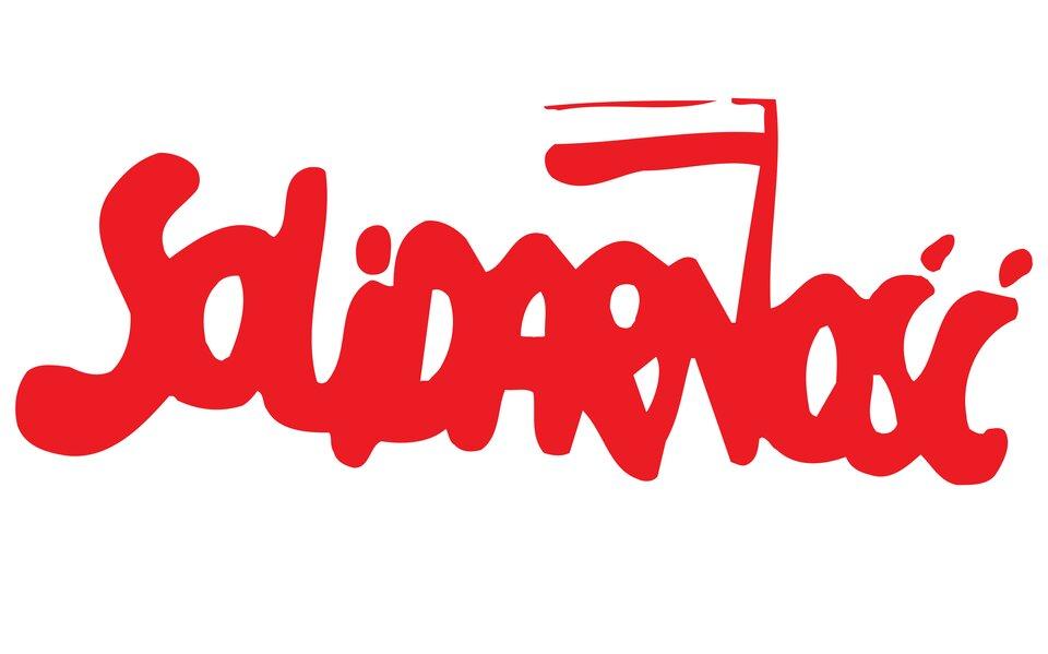 Logo Solidarności Źródło: Logo Solidarności, tylko do użytku edukacyjnego.