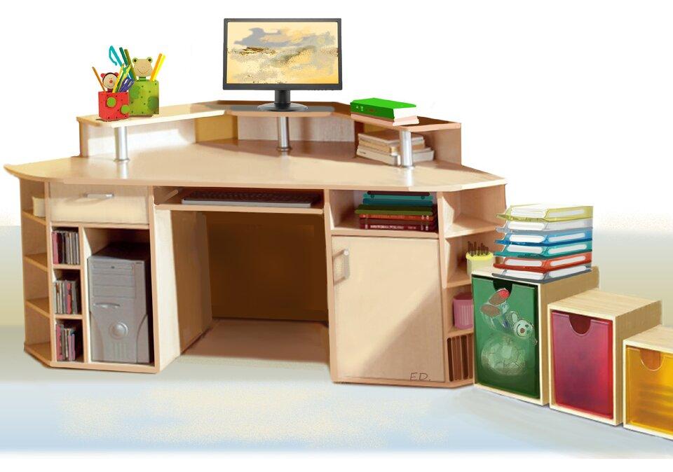 Ilustracja przedstawiająca pokój, wktórym przedmioty zostały uporządkowane