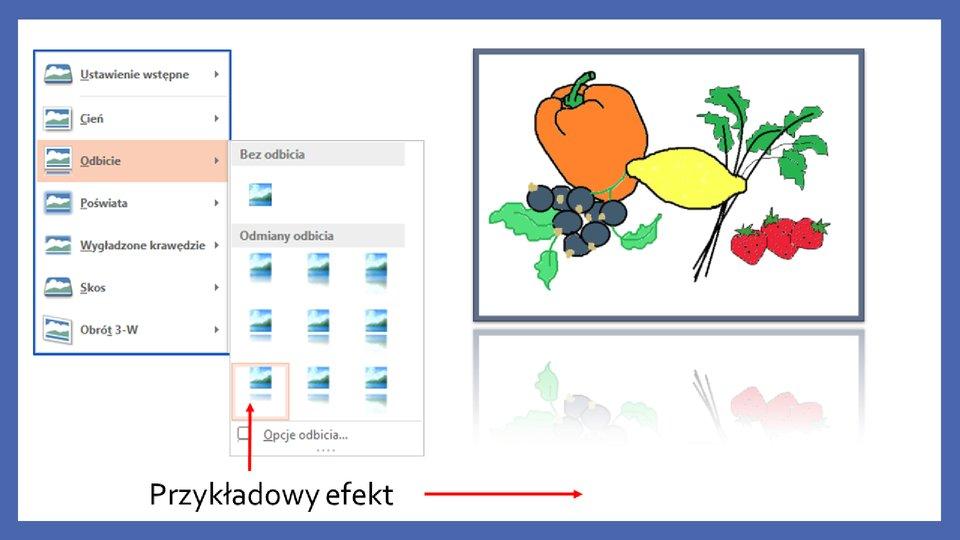 Slajd 8 galerii zrzutów slajdów: Modyfikacja obiektów wprogramie MS PowerPoint