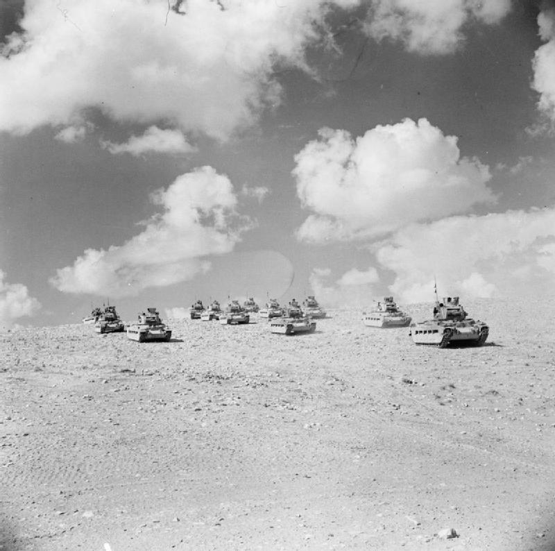 Czołgi pod Tobrukiem Czołgi pod Tobrukiem Źródło: domena publiczna.
