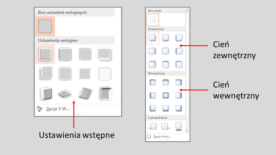 Slajd 6 galerii: Formatowanie przycisków akcji wprogramie MS PowerPoint