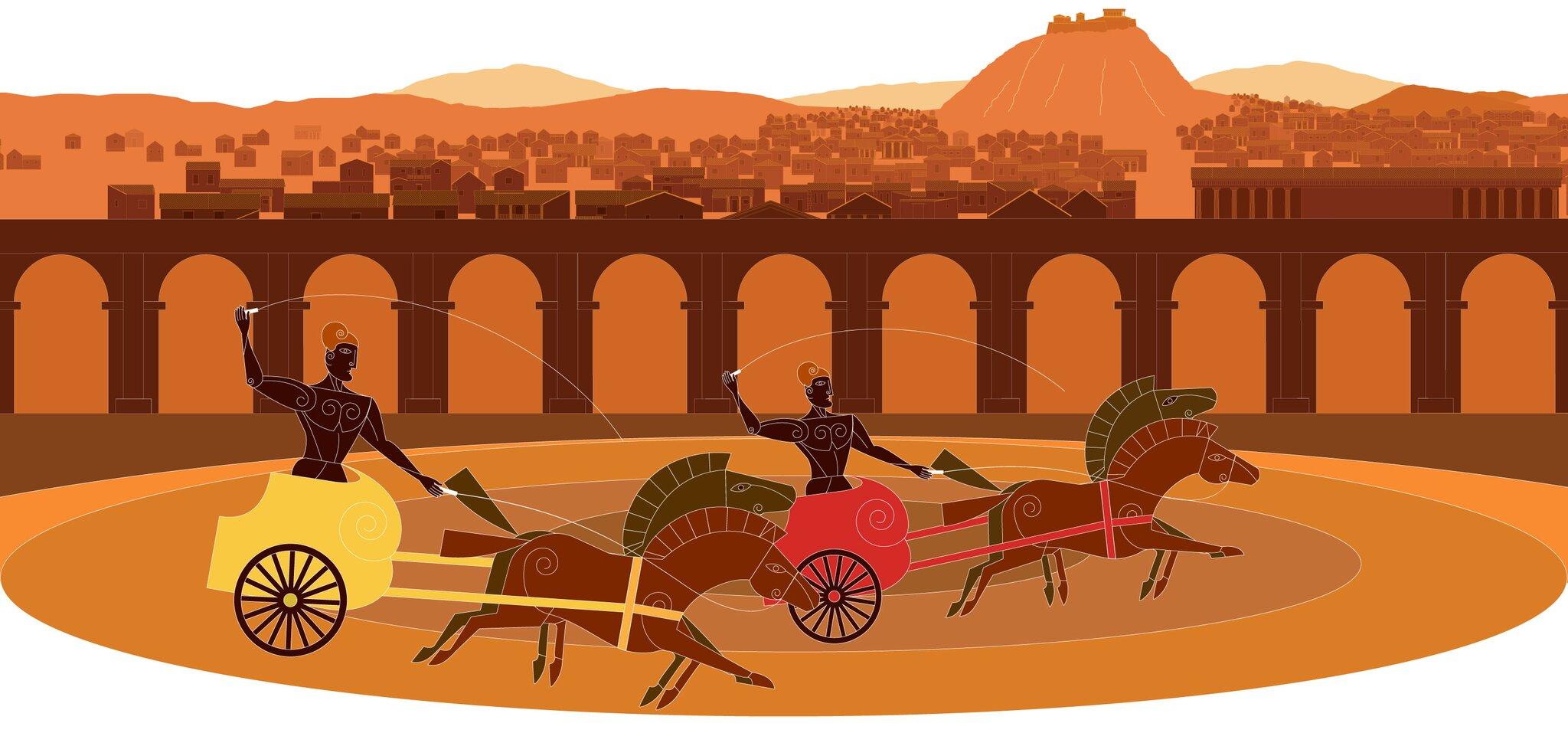 Wyścig rydwanów Wyścig rydwanów Źródło: Contentplus.pl Sp. zo.o., licencja: CC BY 3.0.