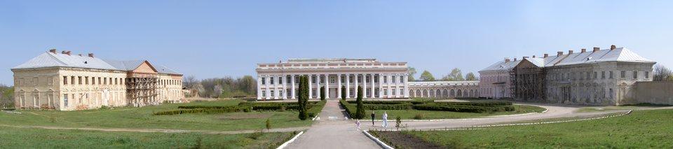 PałacPotockich wTulczynie, jedno zgłównych miejsc, gdzie zbierali się zwolennicy Targowicy. Największy pałac magnacki na ziemiach ukrainnych rozkazał wznieść Stanisław Szczęsny Potocki w1781 r. istał się on centrum jednej znajwiększych polskich, magnackich posiadłości. Przebywał wnim w1787 r. król Stanisław August Poniatowski, na którego cześć wydano ucztę na 150 osób. PałacPotockich wTulczynie, jedno zgłównych miejsc, gdzie zbierali się zwolennicy Targowicy. Największy pałac magnacki na ziemiach ukrainnych rozkazał wznieść Stanisław Szczęsny Potocki w1781 r. istał się on centrum jednej znajwiększych polskich, magnackich posiadłości. Przebywał wnim w1787 r. król Stanisław August Poniatowski, na którego cześć wydano ucztę na 150 osób. Źródło: Alex Khimich, Wikimedia Commons, licencja: CC BY-SA 2.5.