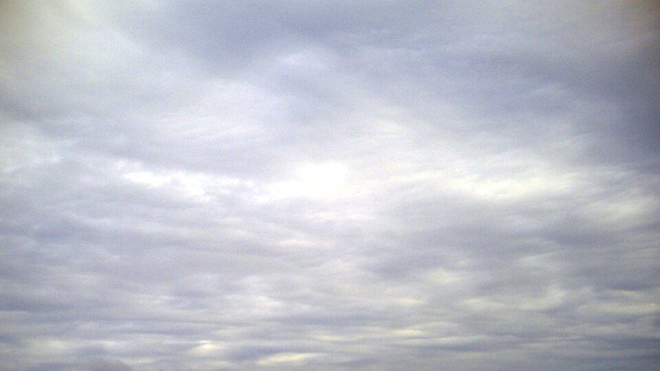 Fotografia chmury typu Altostratus