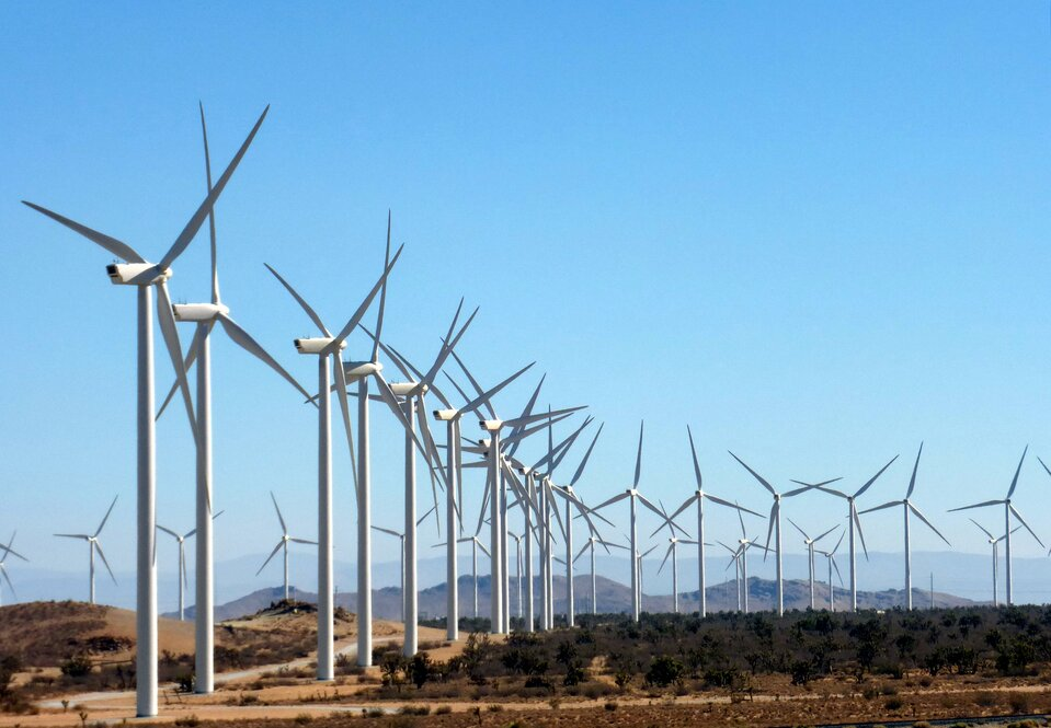 Elektrownia Alta Wind Energy Center wKalifornii