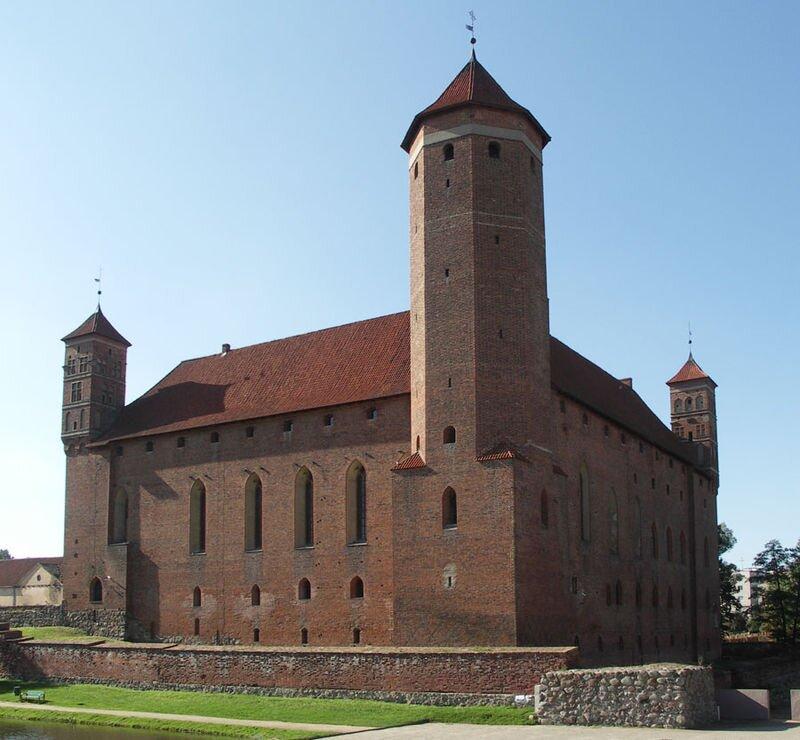 Zamek wLidzbarku Warmińskim
