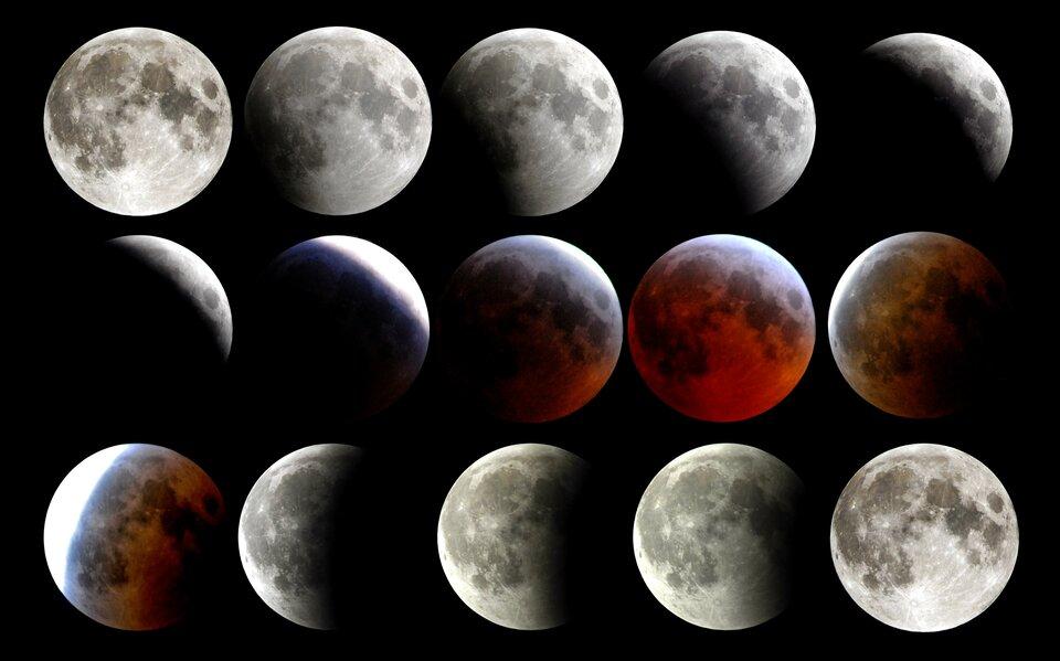 Dowód na kulistość Ziemi – cień na Księżycu podczas jego zaćmienia
