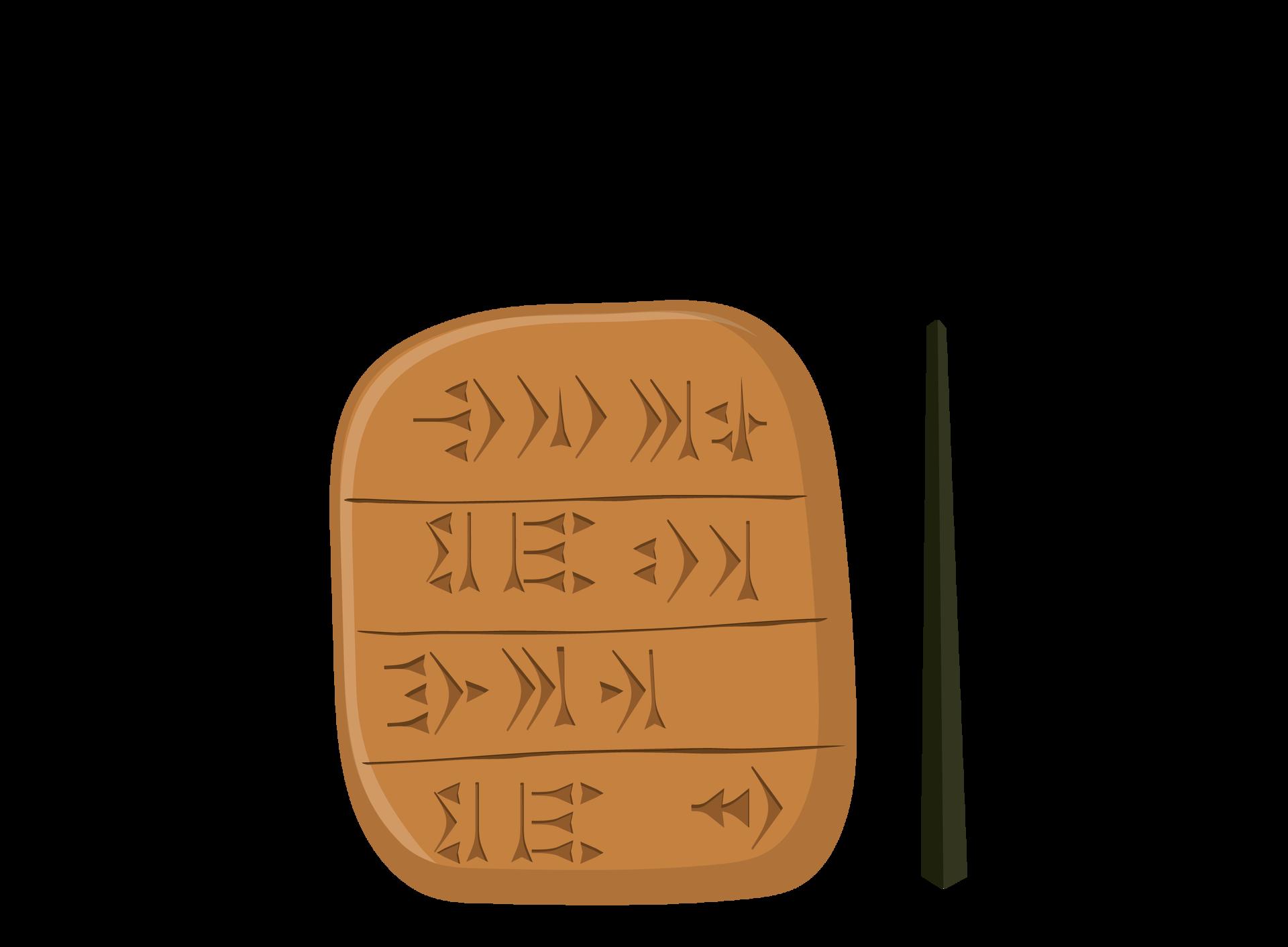 Tabliczki zpismem klinowym to podstawowe źródło wiedzy ożyciu ludzi wstarożytnej Mezopotamii Tabliczki zpismem klinowym to podstawowe źródło wiedzy ożyciu ludzi wstarożytnej Mezopotamii Źródło: Contentplus.pl sp. zo.o..