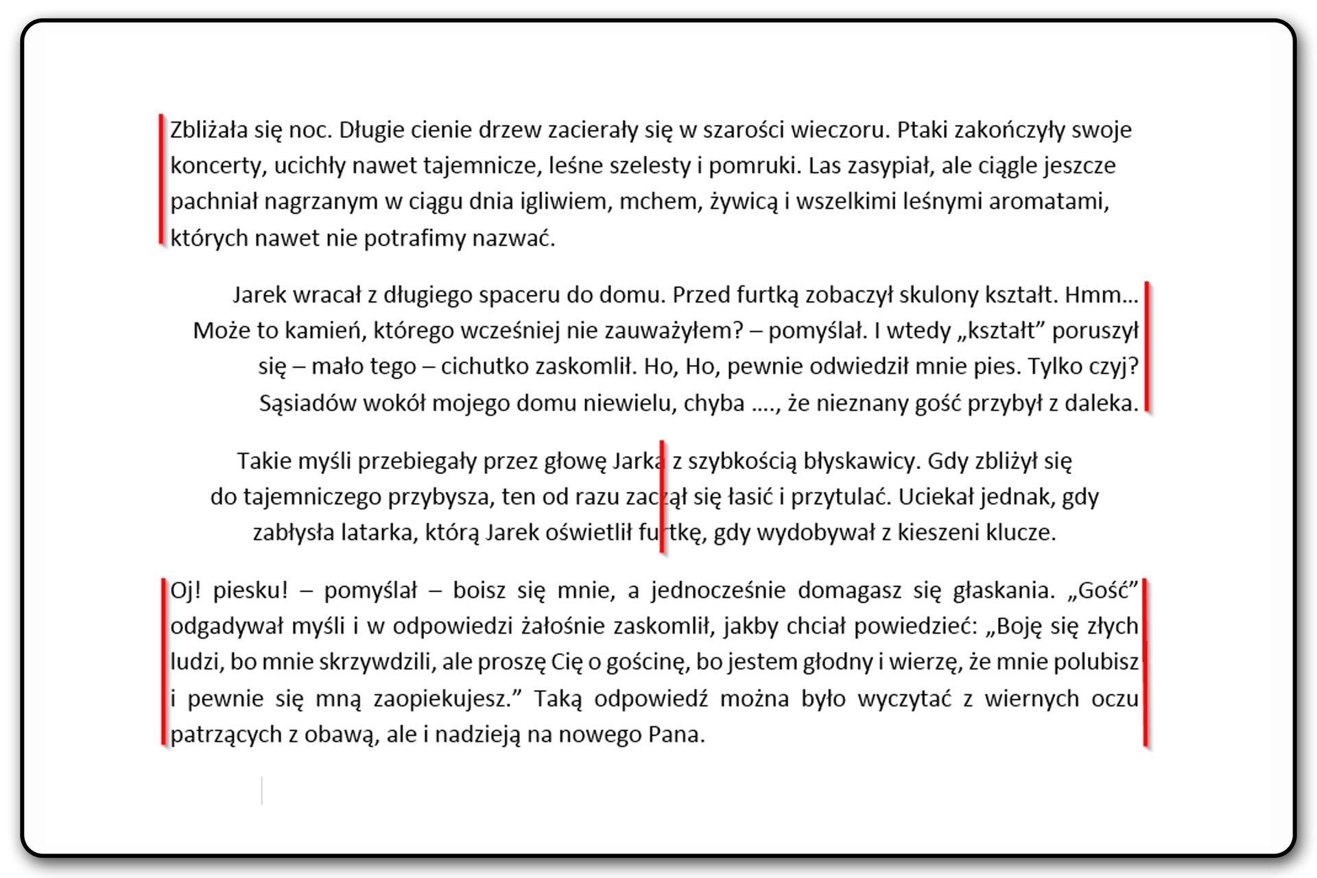Slajd 2 galerii: Zastosowanie poszczególnych narzędzi wyrównywania tekstuwyrównywania tekst