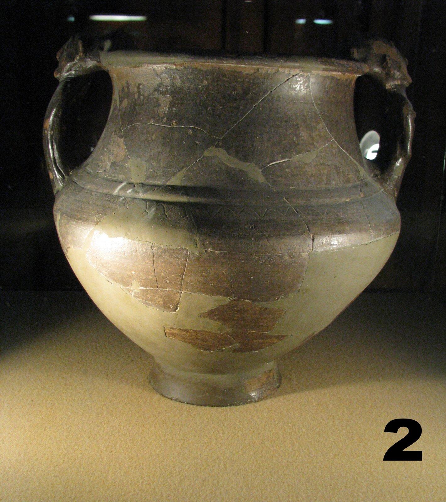 Naczynie celtyckie zterenu Rumunii, III w. p.n.e.