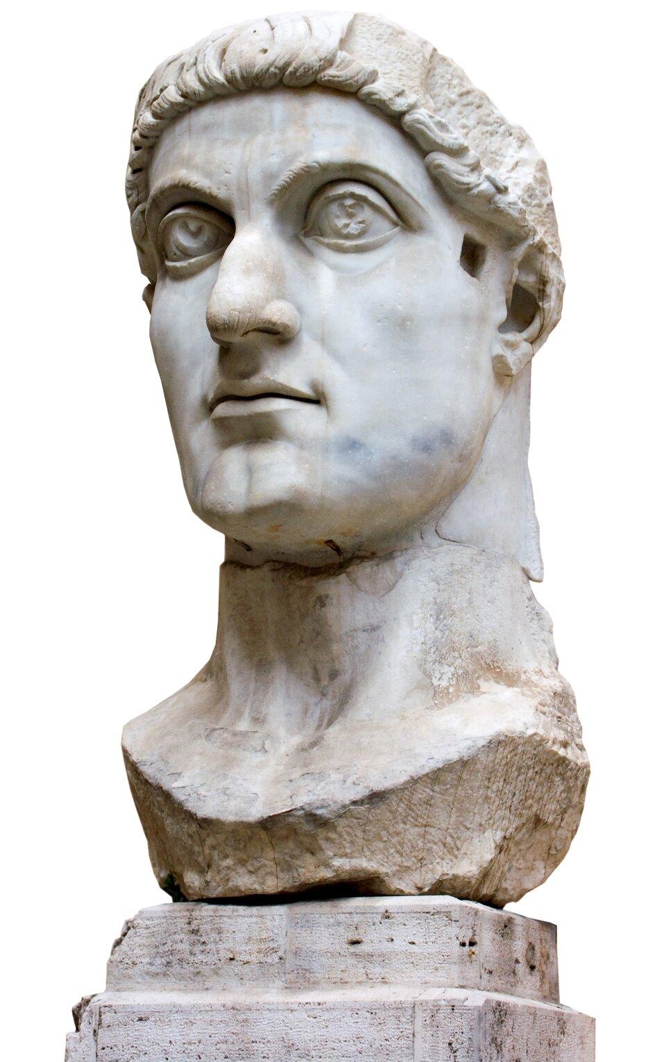 Popiersie Konstantyna Wielkiego Popiersie Konstantyna Wielkiego Źródło: Jean Christophe BENOIST, Wikimedia Commons, licencja: CC BY 2.5.