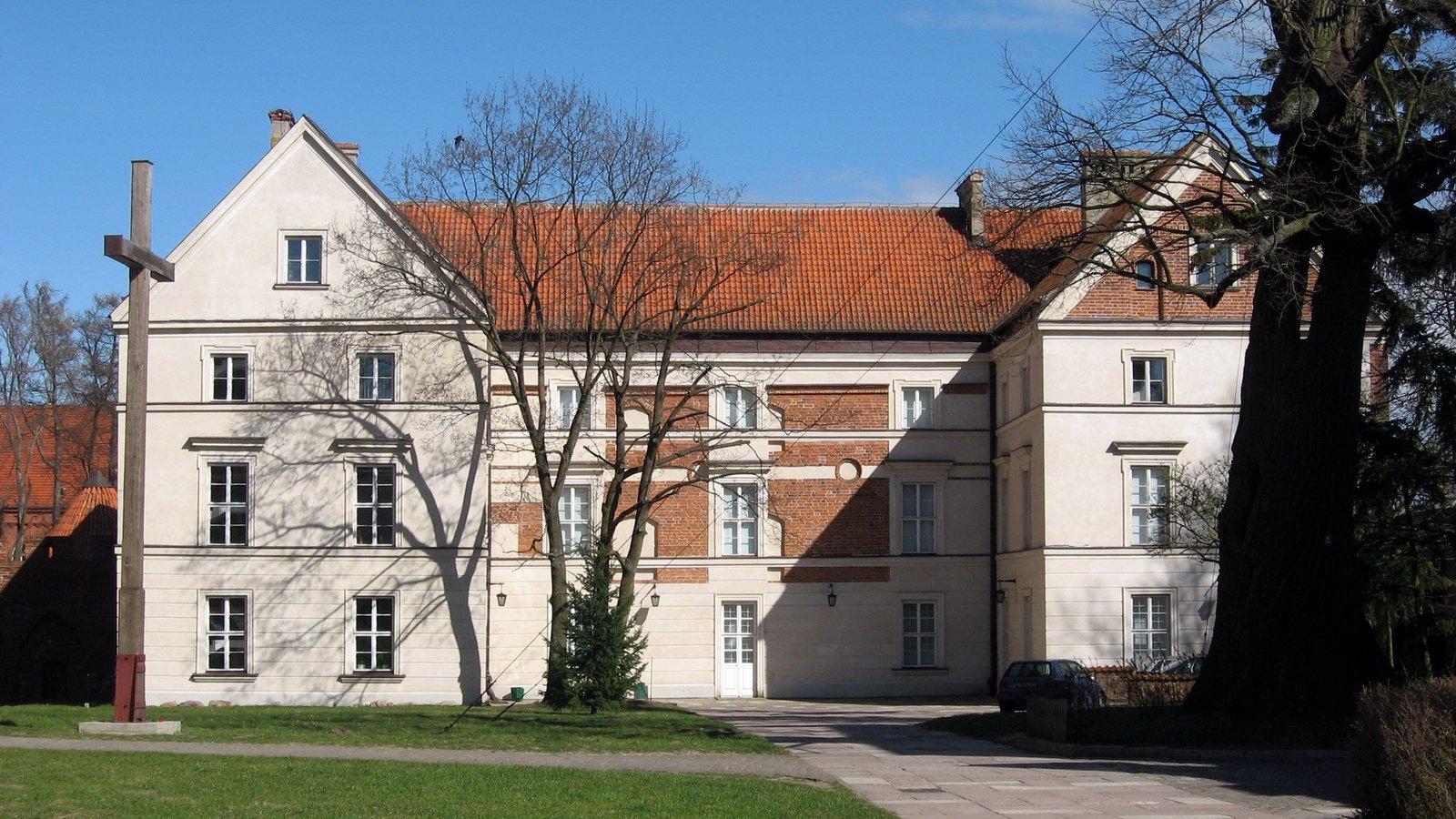 Pałac biskupi we Fromborku Pałac biskupi we Fromborku Źródło: Tomek Zakrzewski, Wikimedia Commons, licencja: CC BY-SA 3.0.
