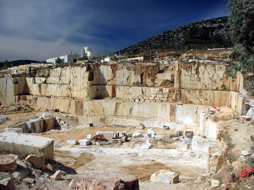 Marmur zOrosei (Sardynia)