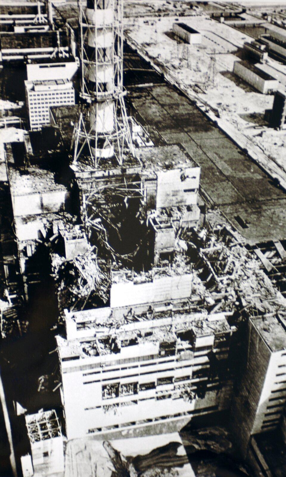 Awaria elektrowni atomowej wCzarnobylu