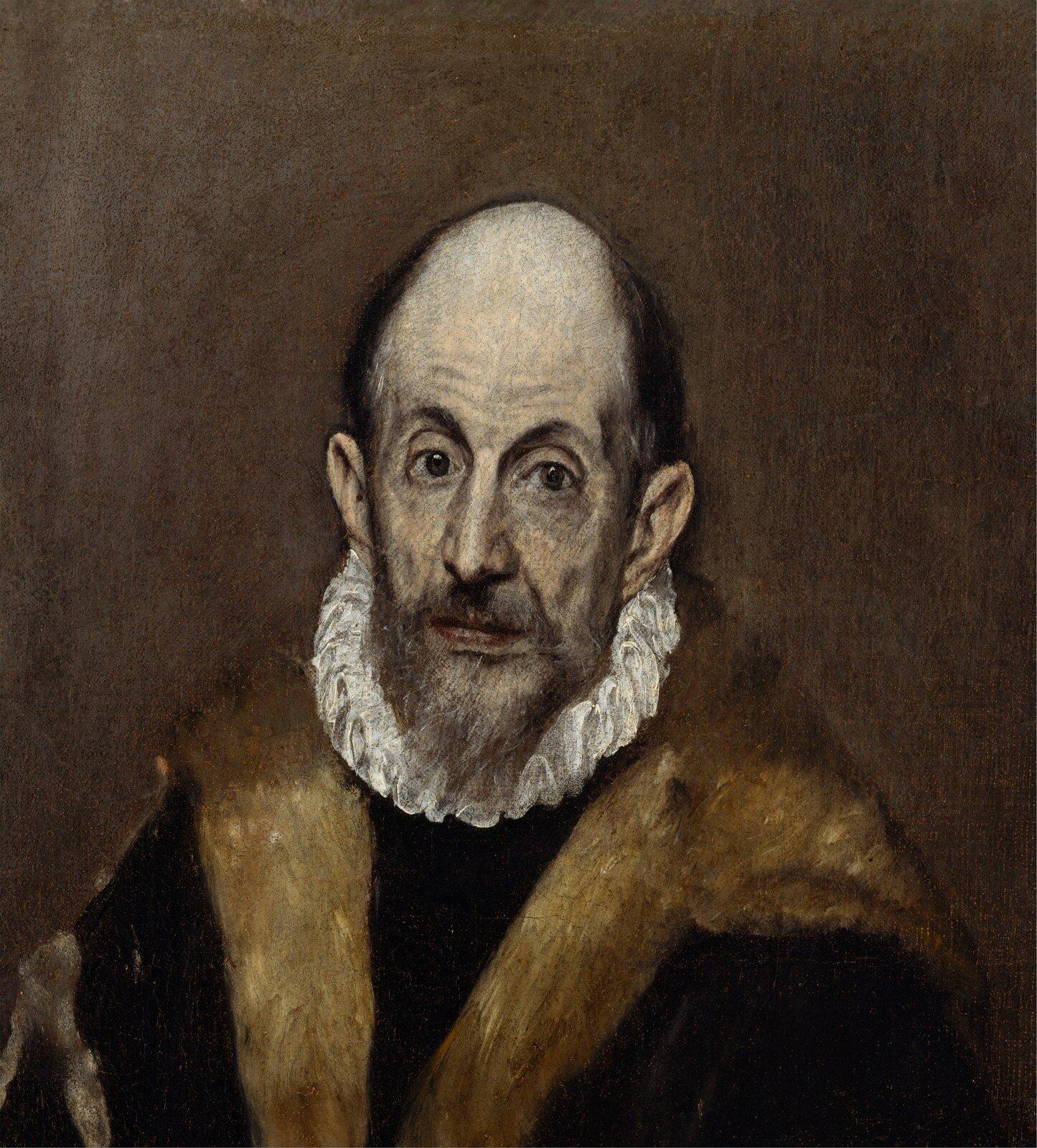 Domniemany autoportret El Greca Domniemany autoportret El Greca Źródło: El Greco, 1595–1600, olej na płótnie, Metropolitan Museum of Art, domena publiczna.