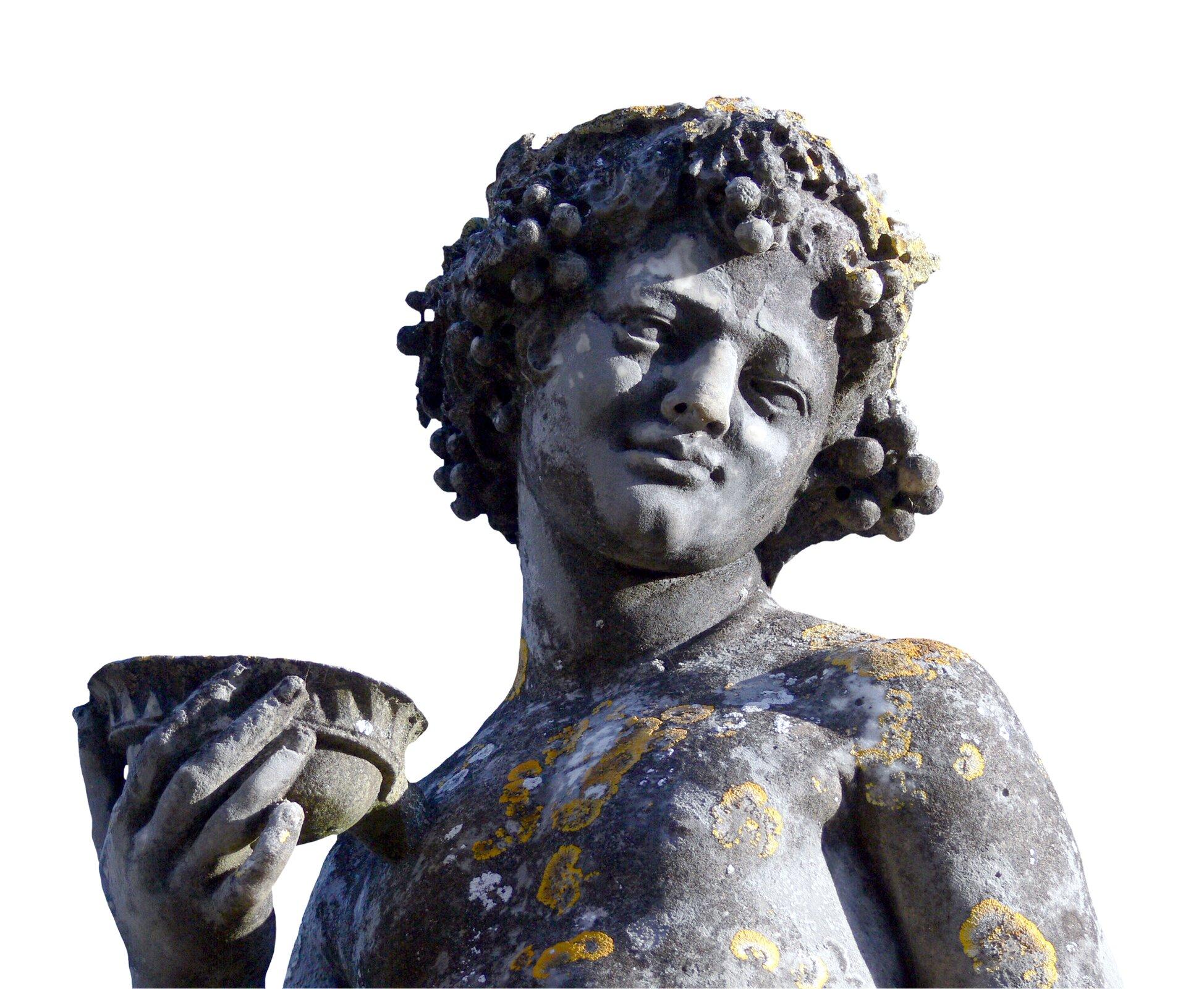 Młody Bachus (Dionizos) Młody Bachus (Dionizos) Źródło: Mamjodh, Albi, Tarn, Francja, licencja: CC BY 2.0.