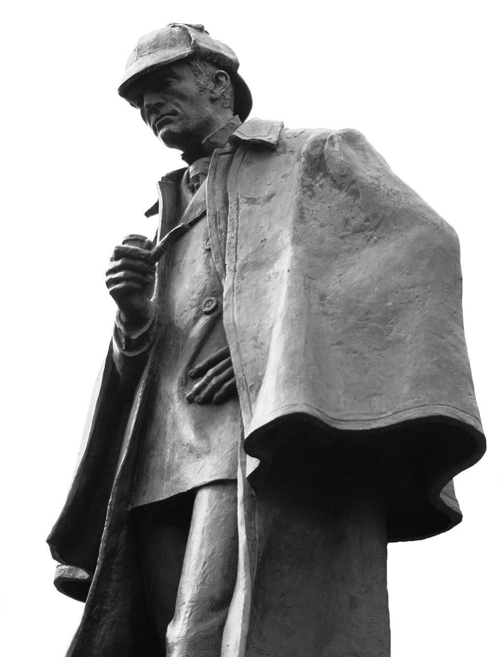 Pomnik Sherlocka Holmesa wEdynburgu Pomnik Sherlocka Holmesa wEdynburgu Źródło: Siddharth Krish, fotografia barwna, licencja: CC BY-SA 3.0.