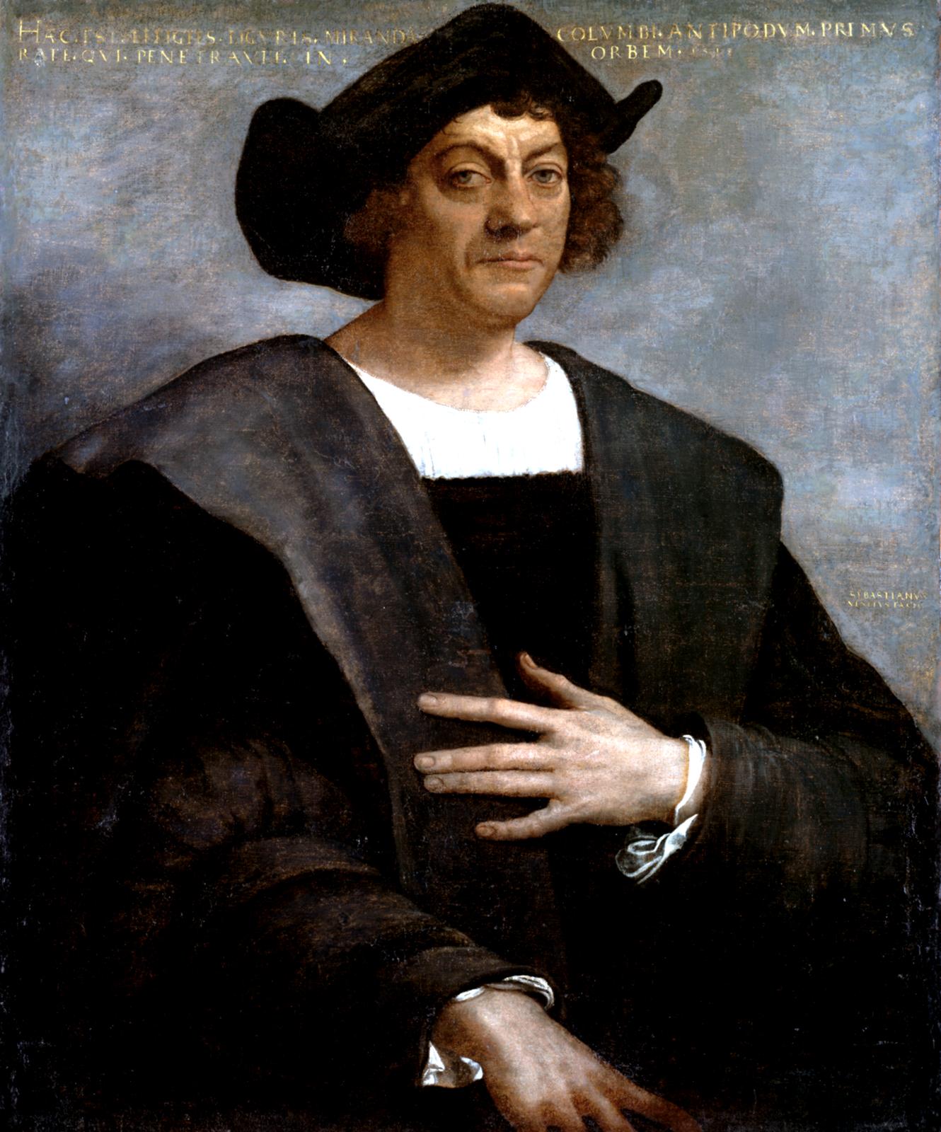 Krzysztof Kolumb Źródło: Sebastiano del Piombo, Krzysztof Kolumb, 1519, Metropolitan Museum of Art, domena publiczna.