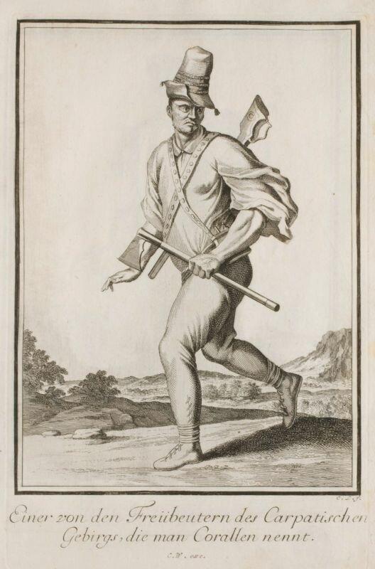 Zbójnik karpacki Zbójnik karpacki Źródło: początek XVIII wieku, domena publiczna.