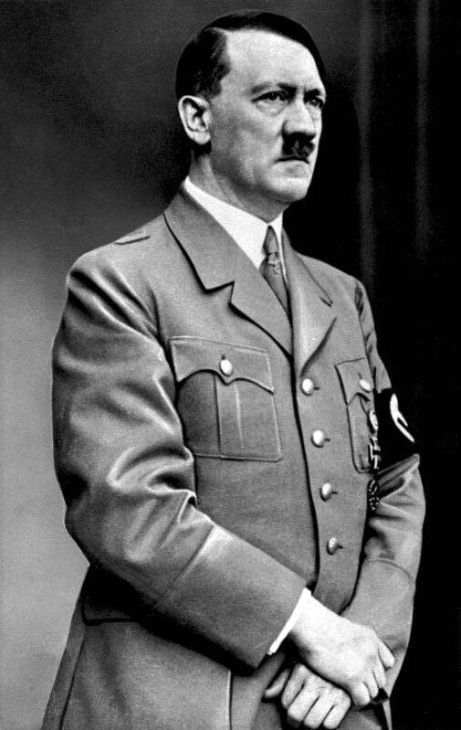 Adolf Hitler Adolf Hitler Źródło: domena publiczna.