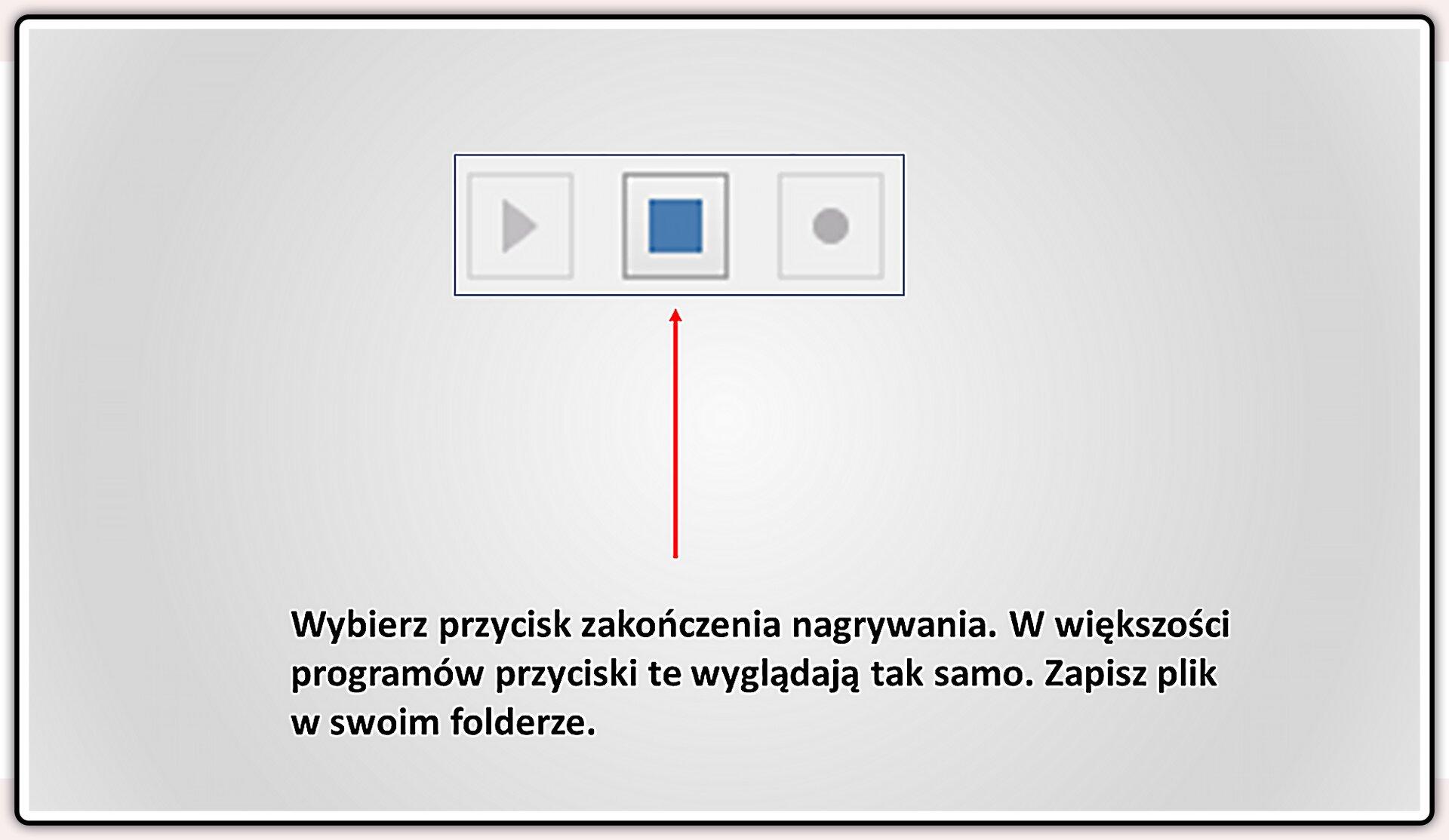 Slajd 2 galerii slajdów pokazu: Nagrywanie komentarza do prezentacji wprogramie LibreOffice Impress