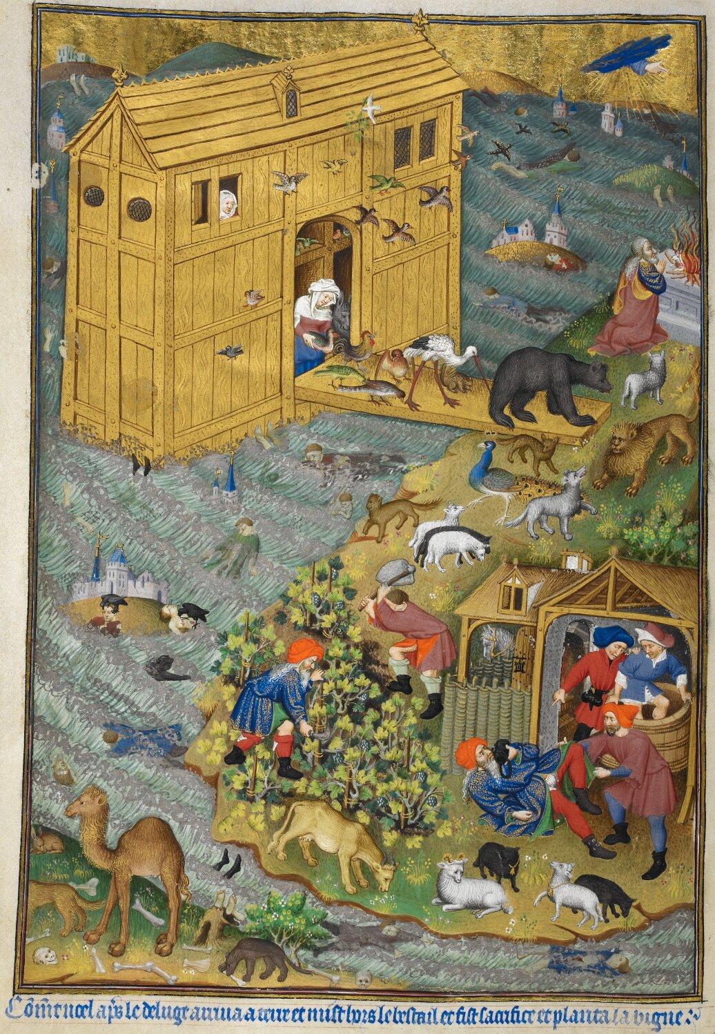 Opuszczeniearki Noego Opuszczeniearki Noego Źródło: domena publiczna.
