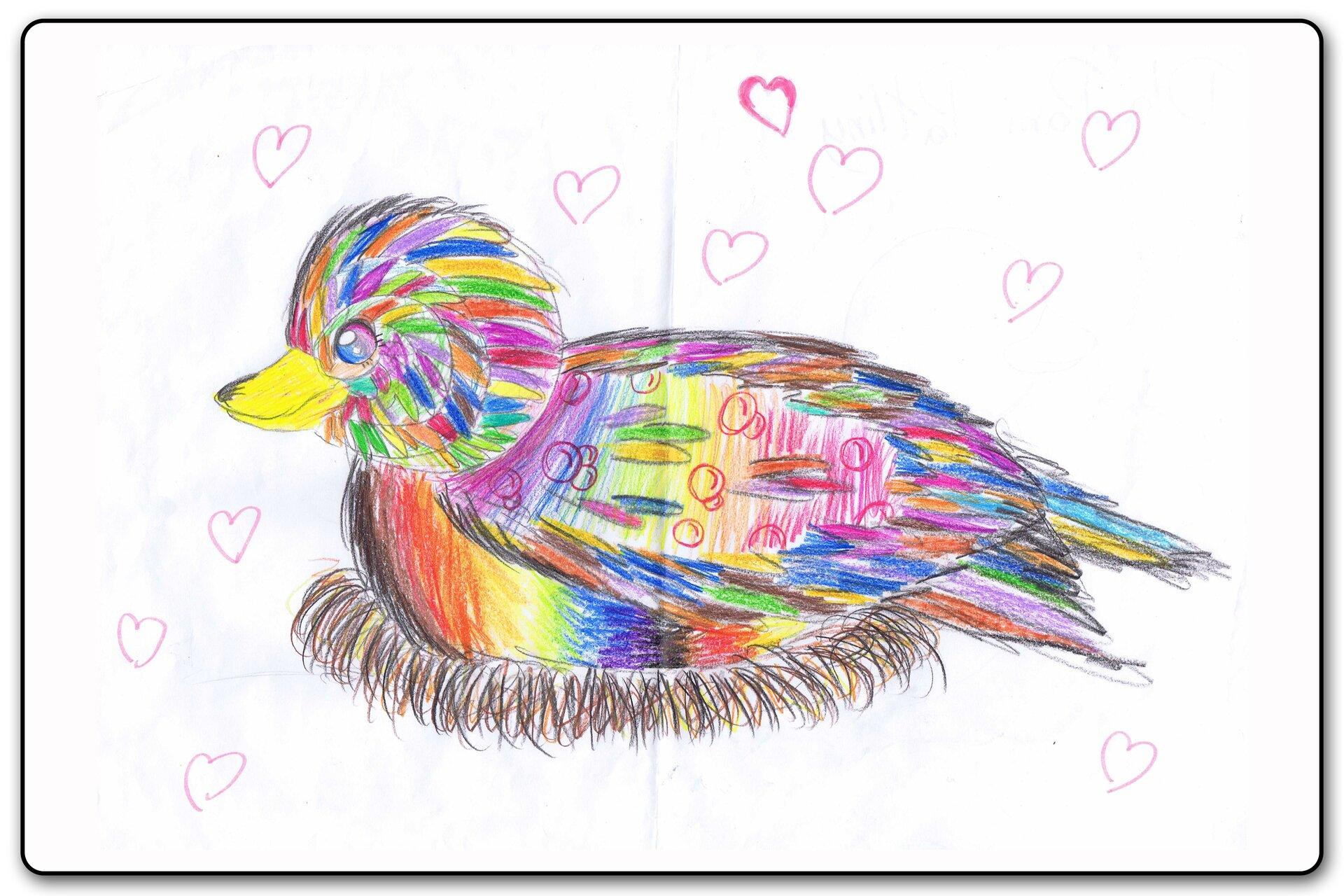 Ilustracja 6 galerii prac plastycznych uczniów