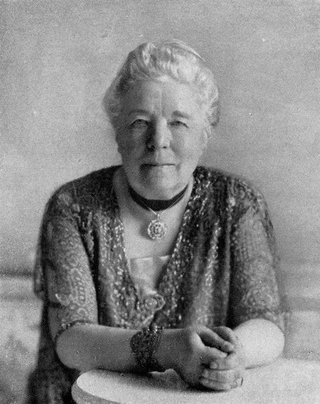 Selma Lagerlöf biogram Źródło: domena publiczna.