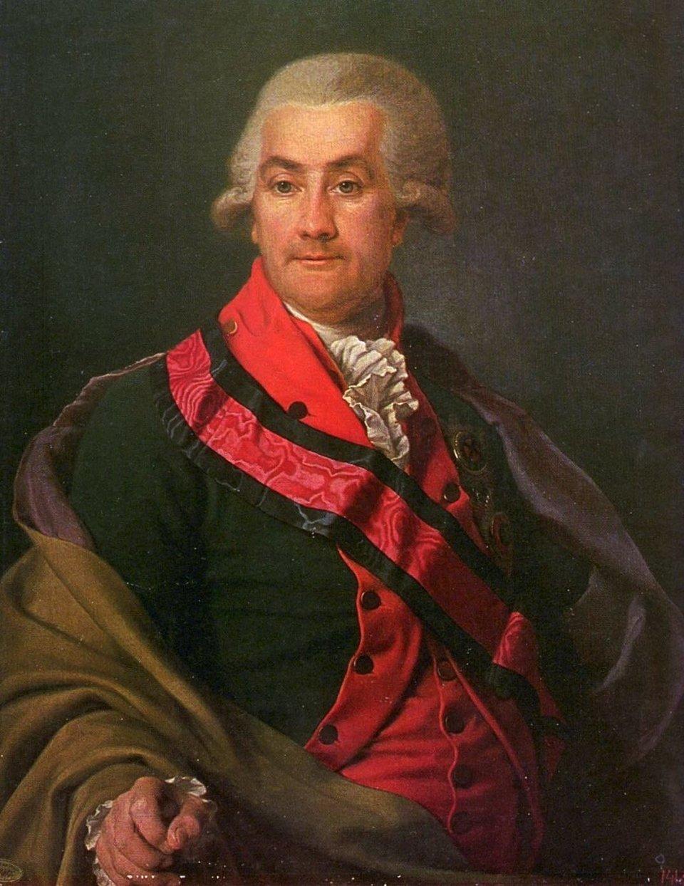 Portret ambasadora Josefa Igelströma (1737-1823) Źródło: Dmitry Grigorievich Levitzky, Portret ambasadora Josefa Igelströma (1737-1823), XVIII w., Olej, domena publiczna.